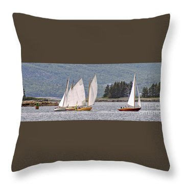 Turning For Home Throw Pillow