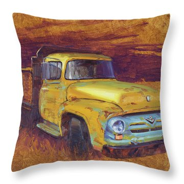 Turning Into The Light Throw Pillow