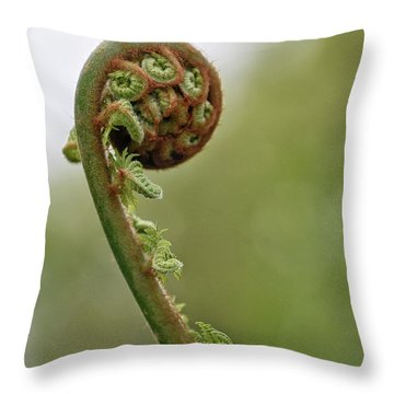 Turning Out Throw Pillow