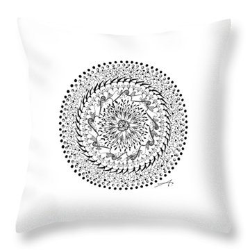 Turning Point Throw Pillow