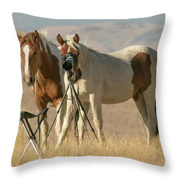 Turning The Tables Throw Pillow