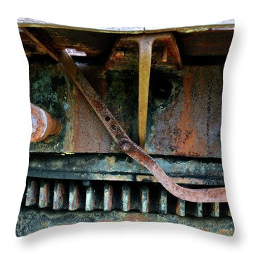 Turntable Gear Throw Pillow