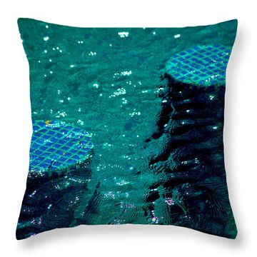 Throw Pillow featuring the photograph Turqueped by Jez C Self