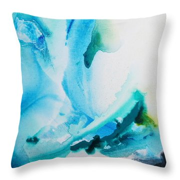 Turquoise Delight Throw Pillow