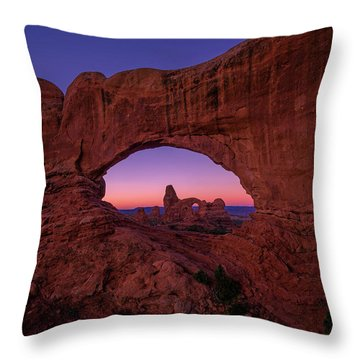 Turret Arche  Throw Pillow