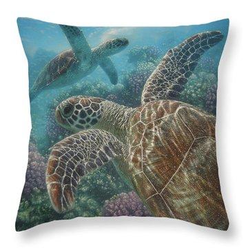 Turtle Bay Throw Pillow
