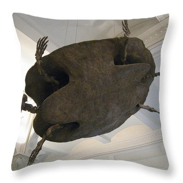 Turtle Throw Pillow by Brian McDunn