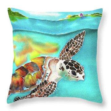 Turtle Creek Throw Pillow