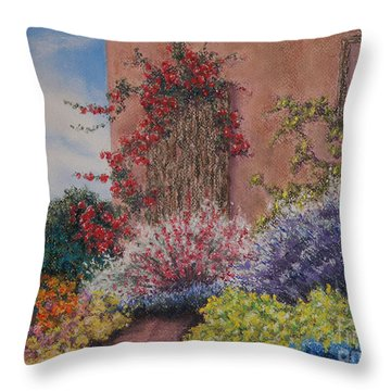 Tuscan Delusions Throw Pillow