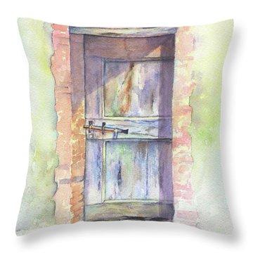 Tuscan Doorway Throw Pillow