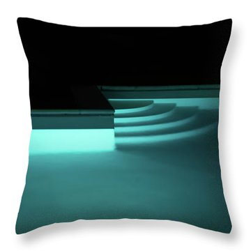 Tuscan Pool Throw Pillow