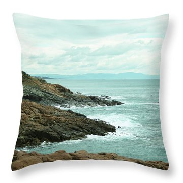 Tuscan Seaside Throw Pillow