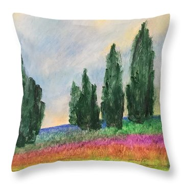 Tuscany Dream Throw Pillow