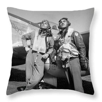 Tuskegee Airmen Throw Pillow