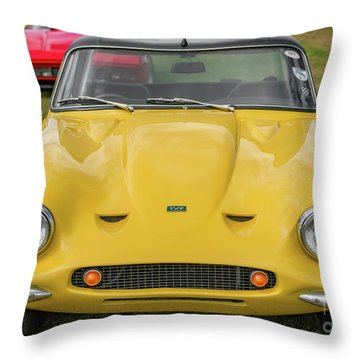 Throw Pillow featuring the photograph Tvr Vixen S2 1969 by Adrian Evans