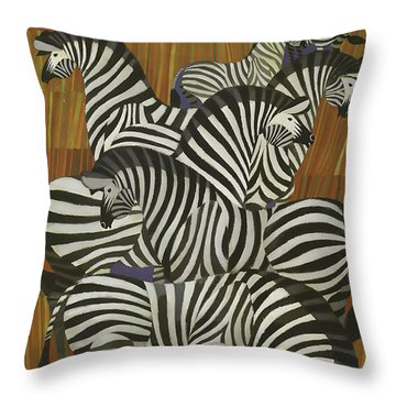 Twa Africa Throw Pillow