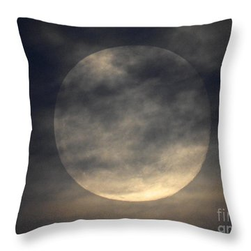 Twas The Night Before A Full Moon Throw Pillow