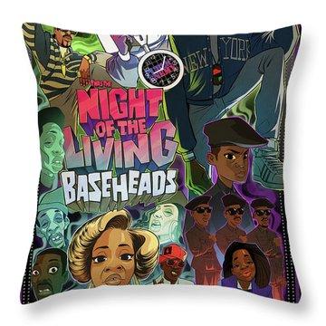 Twas The Night... Throw Pillow