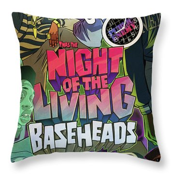 Twas The Night... Throw Pillow