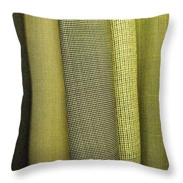 Tweeds Throw Pillow by Anna Villarreal Garbis