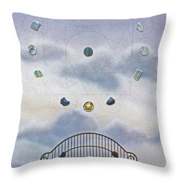 Twelve Throw Pillow by Laurie Stewart