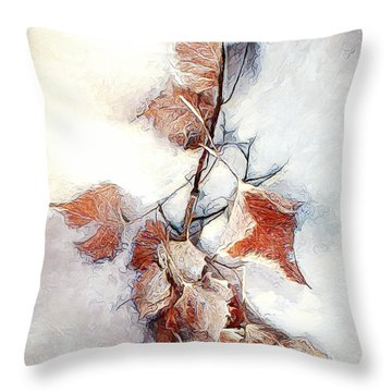 Twigged Throw Pillow