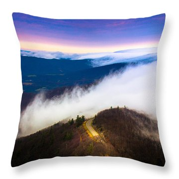 Twilight Dawn Throw Pillow