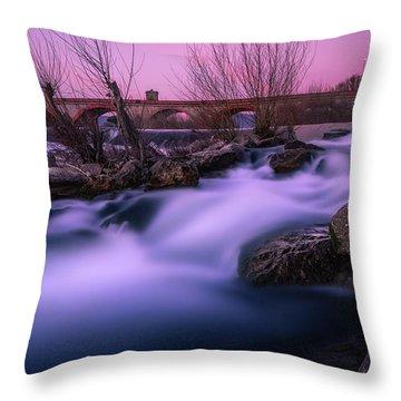 Twilight Falls Throw Pillow