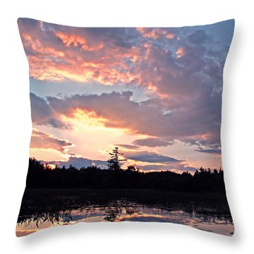 Twilight Glory Throw Pillow