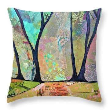 Twilight II Throw Pillow