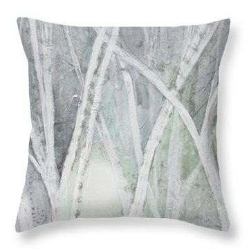 Twilight In Gray II Throw Pillow