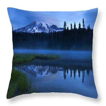 Twilight Majesty Throw Pillow by Mike  Dawson