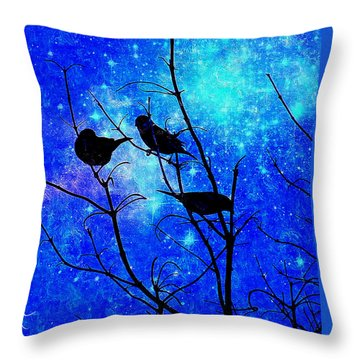 Twilight Throw Pillow by MaryLee Parker
