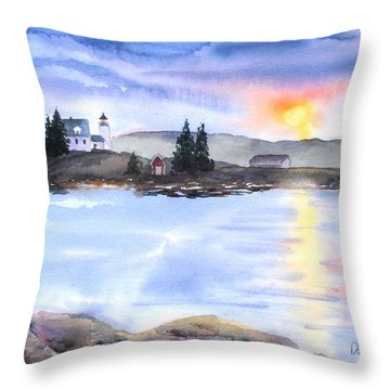 Twilight Welcome Throw Pillow