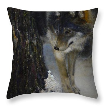 Twilight's Preyer  Throw Pillow