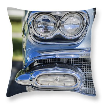 Twin Beam Throw Pillow
