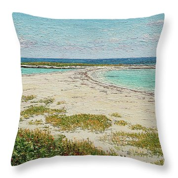 Twin Cove Throw Pillow