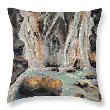 Twin Falls Throw Pillow
