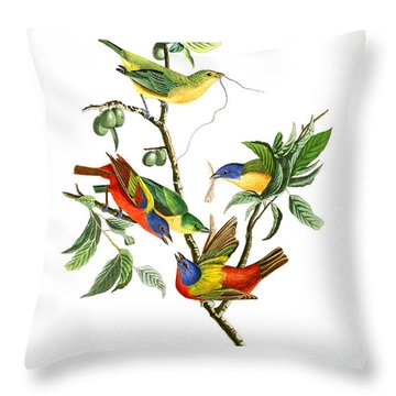Throw Pillow featuring the photograph Twin by Munir Alawi