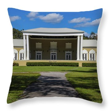 Twin Oaks Throw Pillow