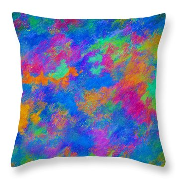 Twin Talisman Throw Pillow