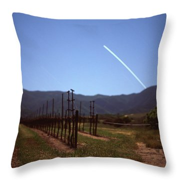 Twinkle Over Monterey Throw Pillow