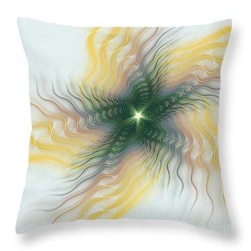 Twinkle Twinkle Little Star Throw Pillow by Deborah Benoit