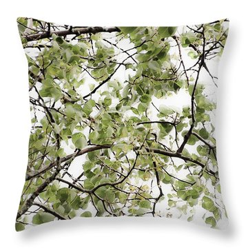 Twist And Turn - Throw Pillow