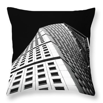 Twisted #1 Throw Pillow