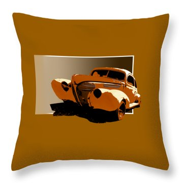 Twisted 40 Throw Pillow