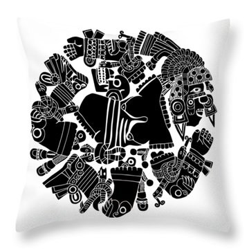 Twisted Day Throw Pillow