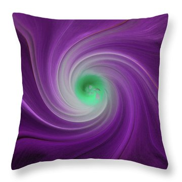 Twisted Glory 3 Throw Pillow by Michael Peychich