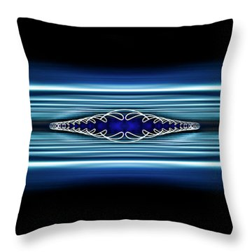 Twisted Light Throw Pillow