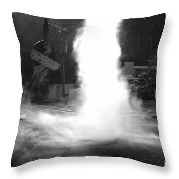 Twister In The Neighborhood Throw Pillow by David Lee Thompson